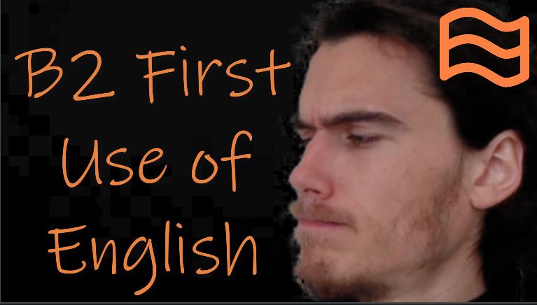 b2 first use of english fce