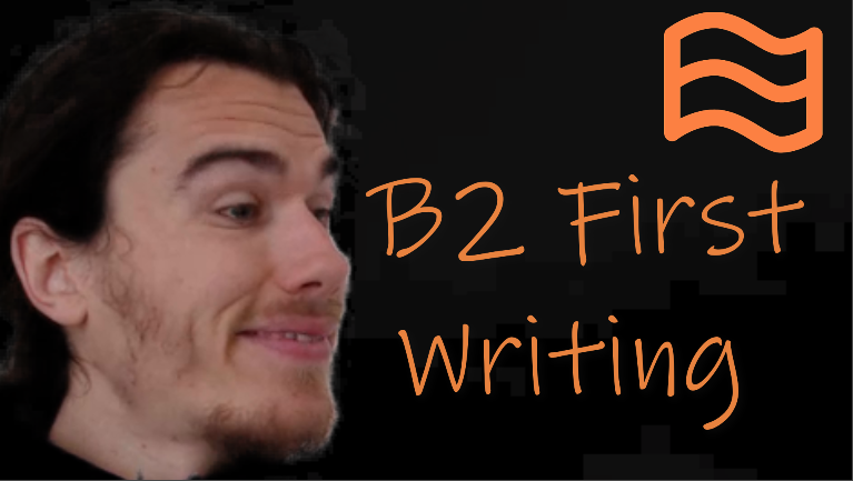 b2 first writing fce