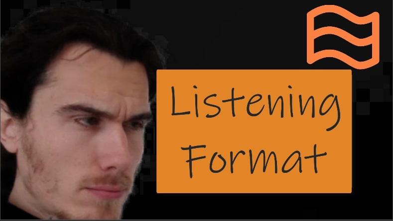 CAE listening format